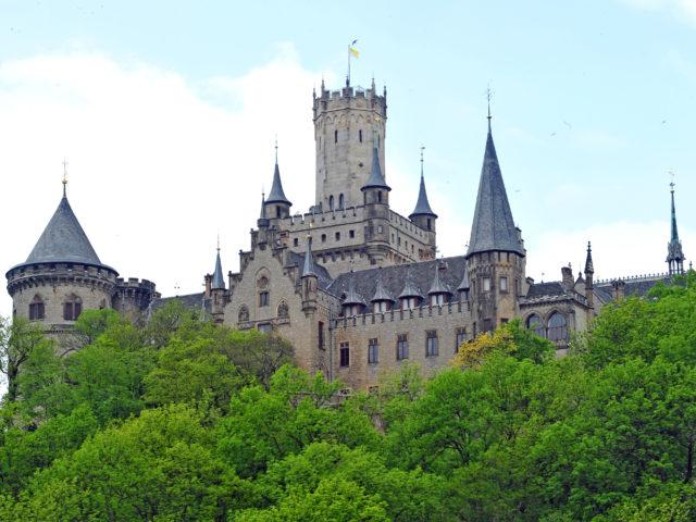 Aussichtsturm Schloss Marienburg