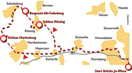 Tour 02: Schloss Marienburg