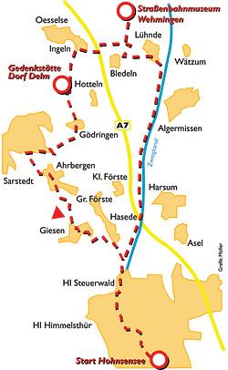 Tour 03: Straßenbahnmuseum Wehmingen