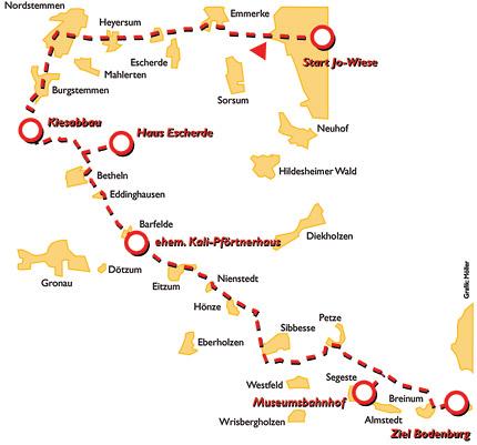 Tour 05: Hildesheimer Wald und Bodenburg