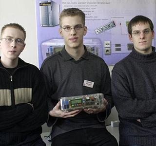 2004: Cornelius Bode, Martin Fiebig, Jan Wagner