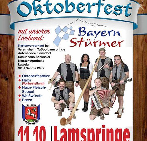 Oktoberfest in Lamspringe