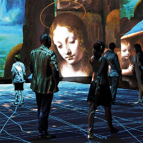 Sonderausstellung: Leonardos Welt – da vinci digital